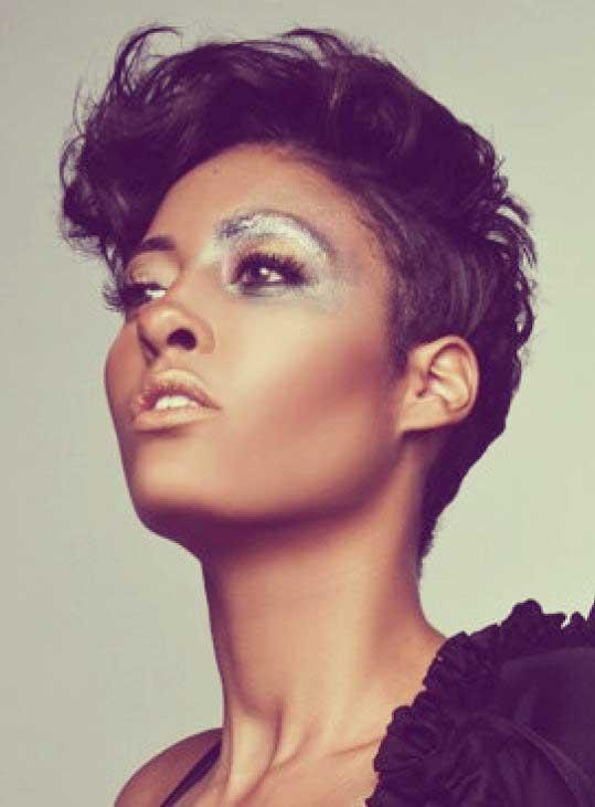 25 Short Hair For Black Women 2012 2013