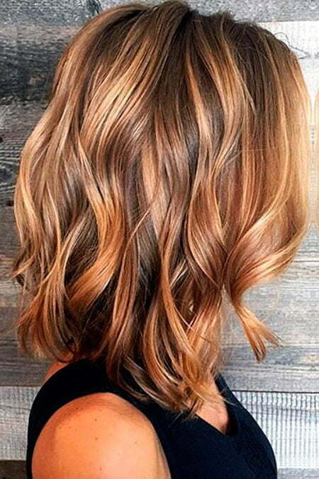 Color Balayage Wavy Summer