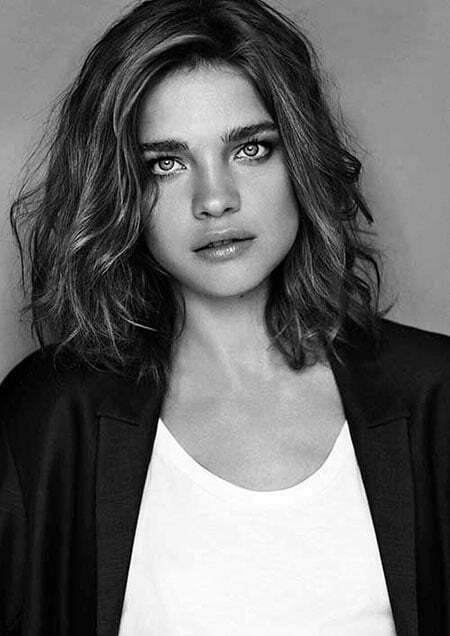 Natalia Vodianova Shoulder Length Hair