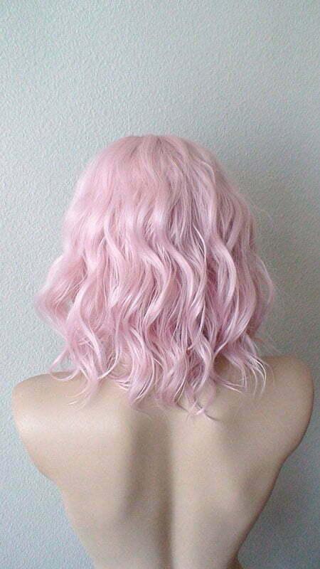 Pink Pastel Color Wig