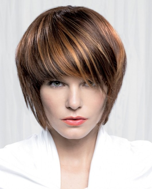 modern hair style beautiful choppy bob hairstyles hairstyles 2015 7718