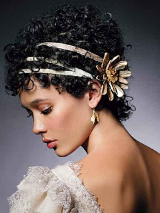Beautiful Bridal Hairstyles For Short Hair Short