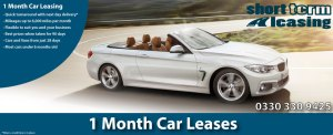 1 Month Car Leases