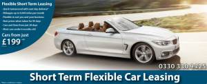 Car Hire for 2 Months with Short Term Flexible Leasing