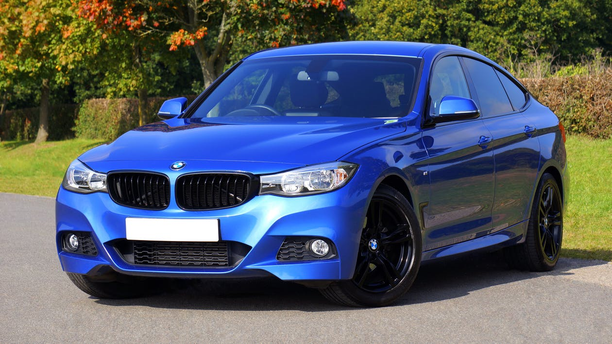 blue bmw - short term lease