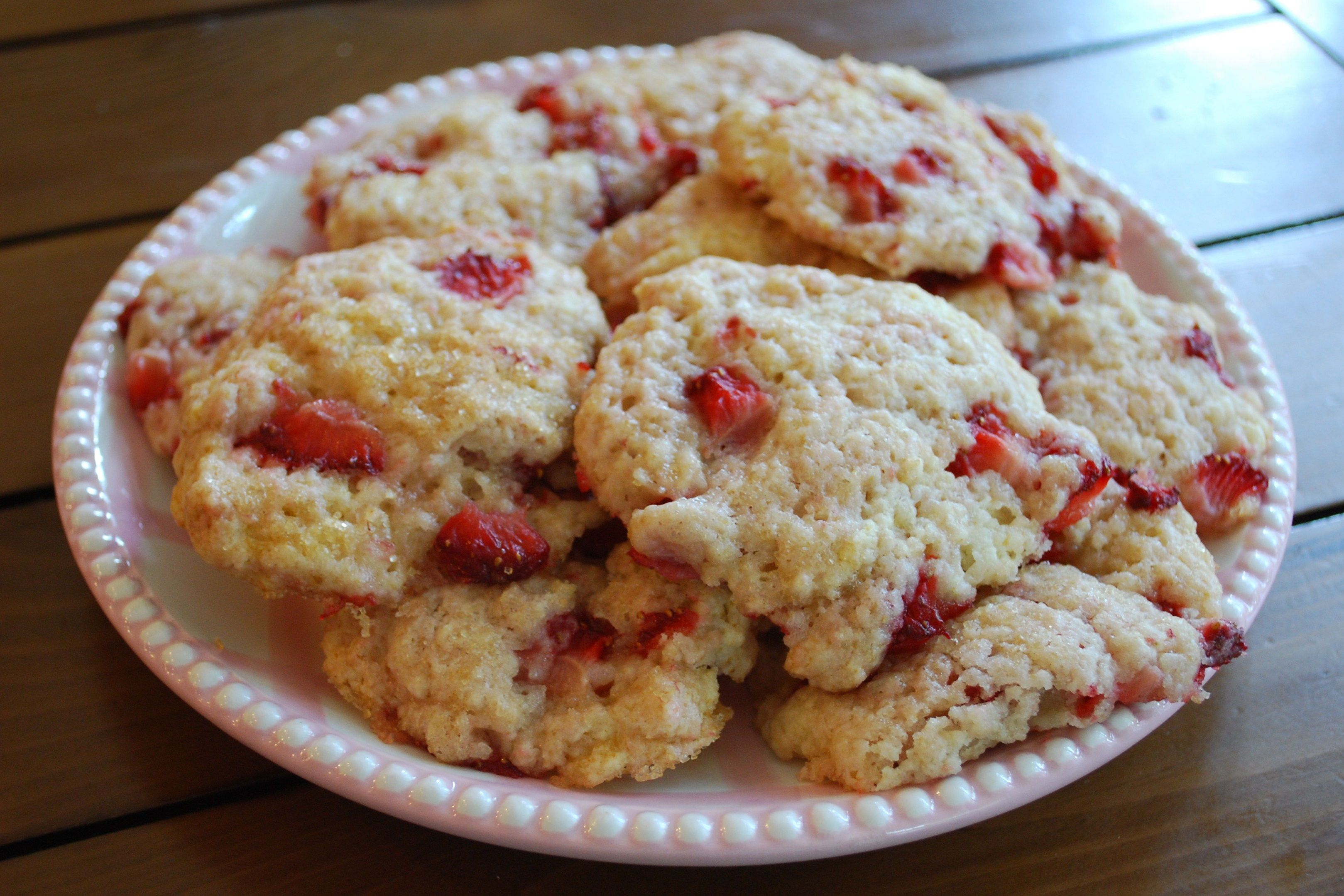 cc strawberry shortcake cookies
