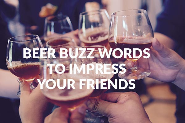 Beer Buzz Words To Impress Your Friends