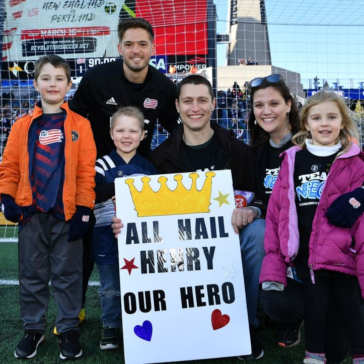 Kelyn and his NEGU Crew, his philanthropic efforts while with the Revolution