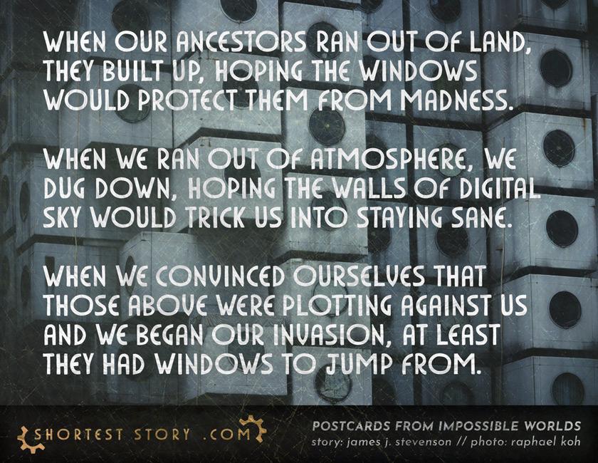 a very special guest story by James J. Stevenson