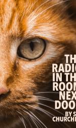 The radio in the room next door