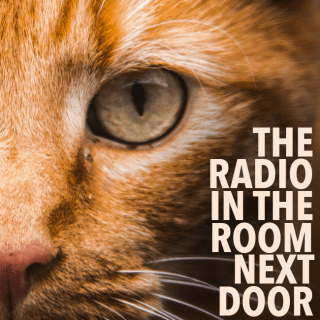 The radio in the room next door