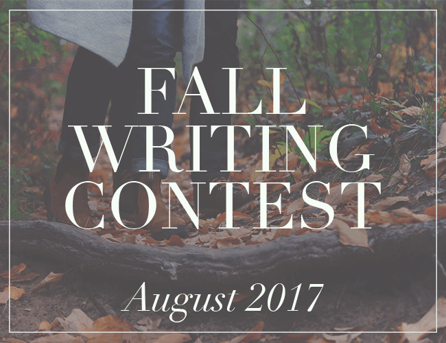 Fall Writing Contest