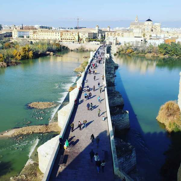 Roman Bridge Cordoba Calahorra Tower
