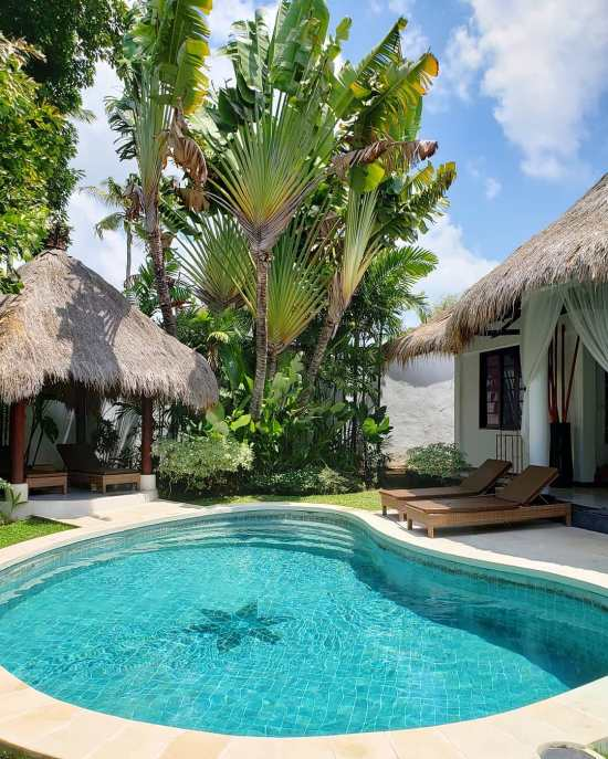 Seminyak private villa with pool