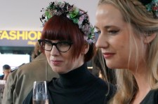 Friends and fans wore floral crowns, wild hats and retro-inspired outfits for Lena Hoschek's 10th Anniversary Show.