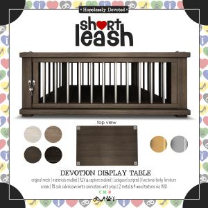 Short-Leash-Devotion-Display-Table-ad
