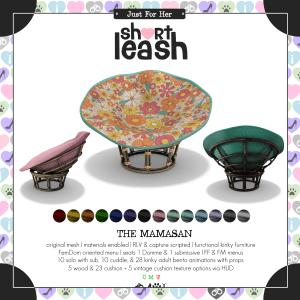 Short Leash The Mamasan ad