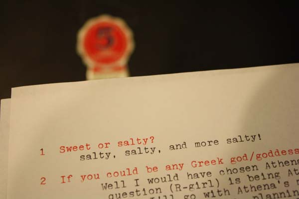 sweet or salty | the both and | shorts and longs | julie rybarczyk