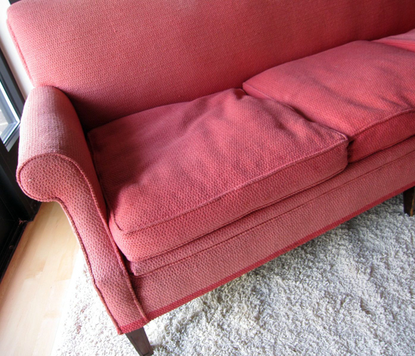 pink couch dear abby | the both and | shorts and longs | julie rybarczyk