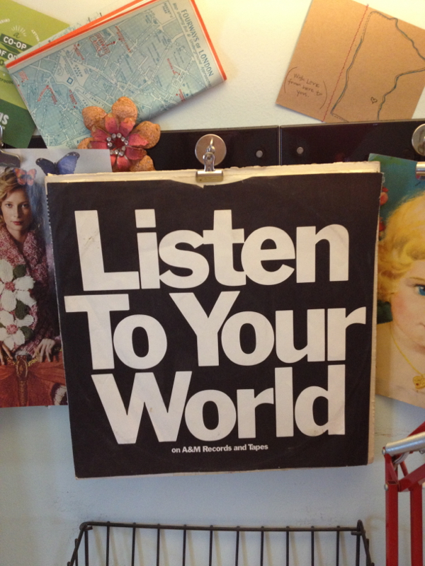 listen to your world-shorts and longs-julie rybarczyk