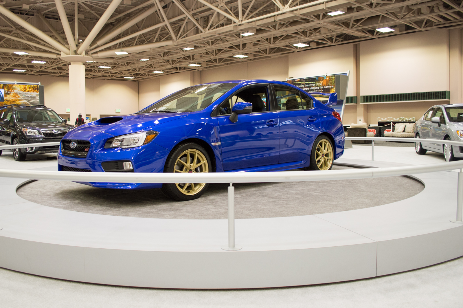 2015 subaru wrx sti launch edition twin cities auto show short shift. Black Bedroom Furniture Sets. Home Design Ideas