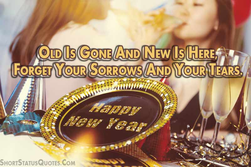 New Year Status for Whatsapp   New Year Wishes for 2018 Short new year status for Whats app 2018