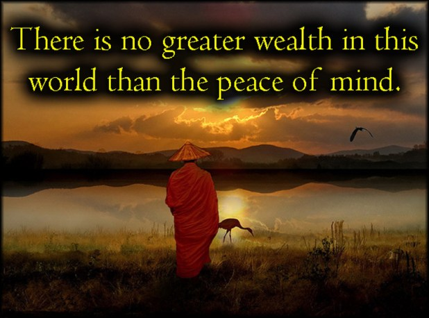 peace of mind status inspirational quotes