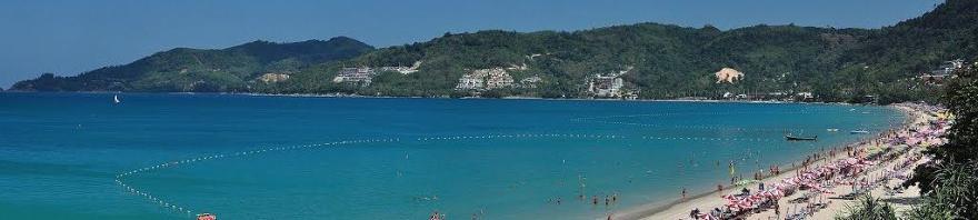 Phuket Patong beach Thailand