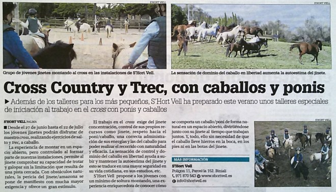 Cross-Country y Trek en S'Hort Vell