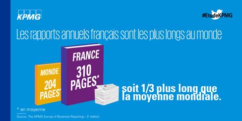 En France, des rapports financiers encore trop longs et avec peu de projections…