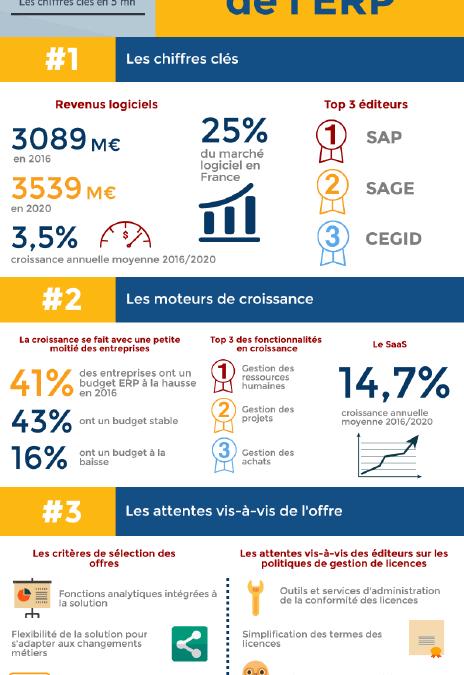 Le marché français de l'ERP se porte bien en 2016 !