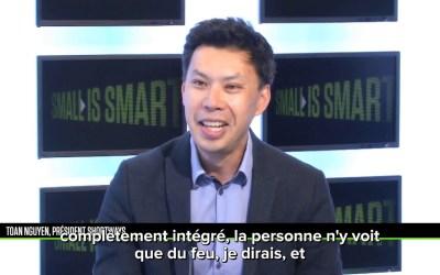 Notre CEO sur le plateau de B Smart avec Jean-Marc Sylvestre !