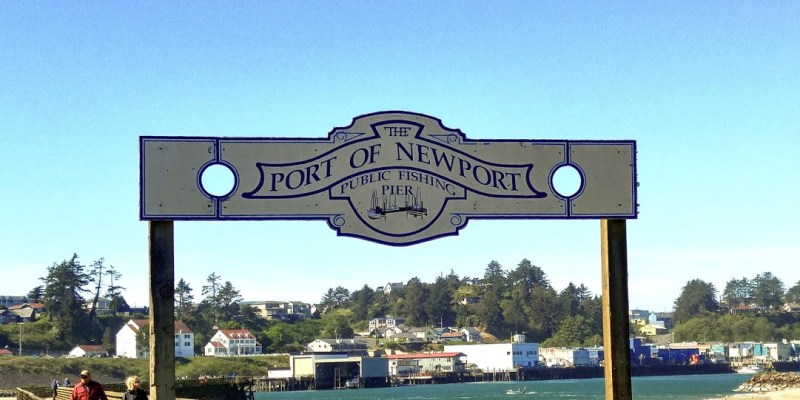 NEWPORT OREGON, A WEEKEND UNDER THE BRIDGE