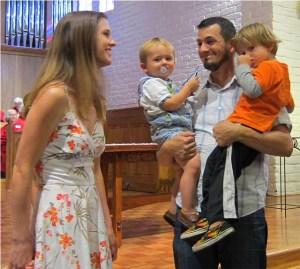 Baptism Smiling