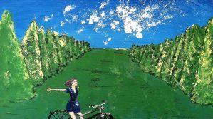 bicycling Versailles