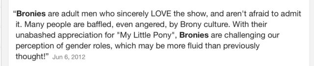 """Are Bronies Changing the definition of masculinity?"" Idea Cannel, PBS Digital Studios"