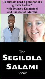 Shoshanah Marohn and Johnson Emmanuel on Segilola Salami