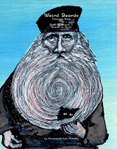 weird beard coloring book