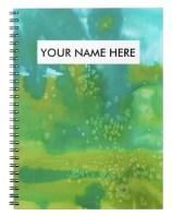 green salty notebook Z