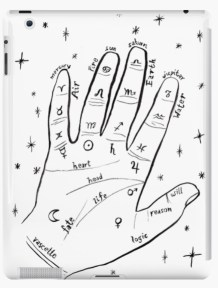 mystical hand ipad RB