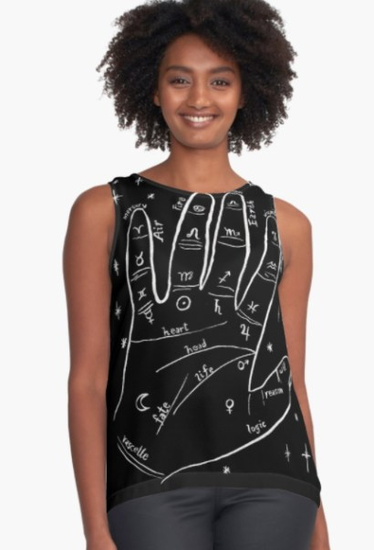 mystical hand top RB