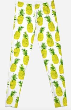pineapple leggings RB