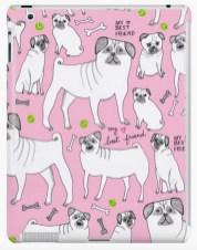 pink pug ipad RB