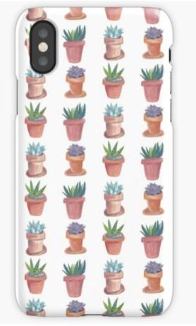 succulent pattern phone RB