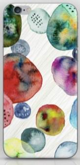watercolor blobs phone S6