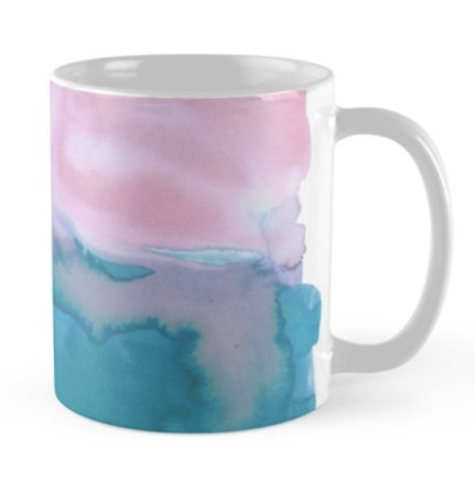 watercolor mug by Shoshannah Scribbles on Redbubble