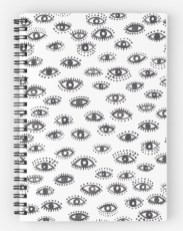 winking eye notebook RB
