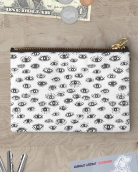winking eye pouch RB