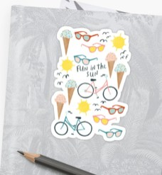 funinthesun stickers RB