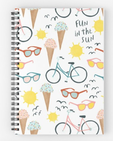 ice cream notebook RB